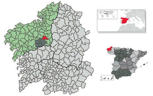 sobrado mapa Nosotros | Concello de Boimorto sobrado mapa